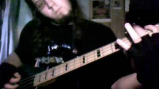 Ashes to the Stars by Tarot Bass guitar cover