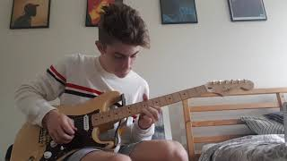 Thinkin Bout You X Crush   Frank Ocean And Yuna Loop Pedal Cover