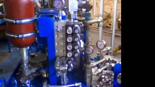 Модульные стандартные гидростанции ABPAC Bosch Rexroth от компании Гидравлик Лайн - видео