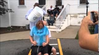 Tammy and Chris Ice Challenge