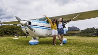 She Wanted To Fly To A Remote Island In New Zealand