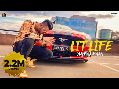 Lit Life By Yuvraj Mann (Official Song) Latest Punjabi Songs 2019 | Jatt Life Studios