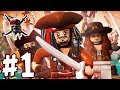 Lego Pirates Of The Caribbean Episode 01 Jack Sparrow h