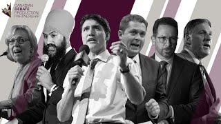 Canada Election 2019 Leaders' Debate
