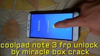 coolpad note 3 frp unlock miracle - ฟรีวิดีโอออนไลน์ - ดู