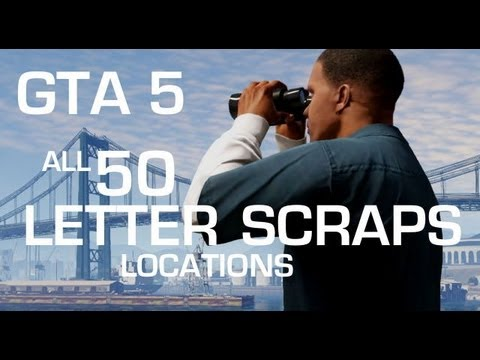 What Happens If You Collect the 50 Scraps of Paper - GTA 5