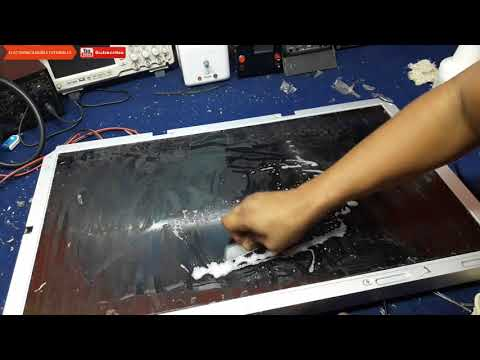 Reparar pantalla corrugada, filtro de video dañado, Film damaged electronica nuñez tutoriales