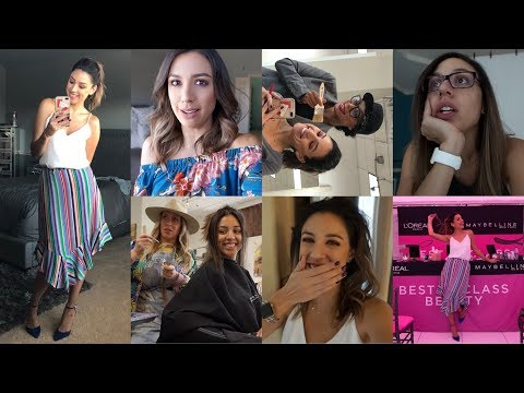 VLOG | Teaching a master class, getting my hair ready for fall, and Wesley's sick again...