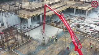 Betoniranje ploče POS GF0-D (328 m²) Boka Place - Porto Montenegro, 24.08.2021