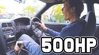 ROWDY 500HP R33 SKYLINE!