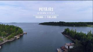 Safe Approach to Petäjäs port in Rauma, Finland