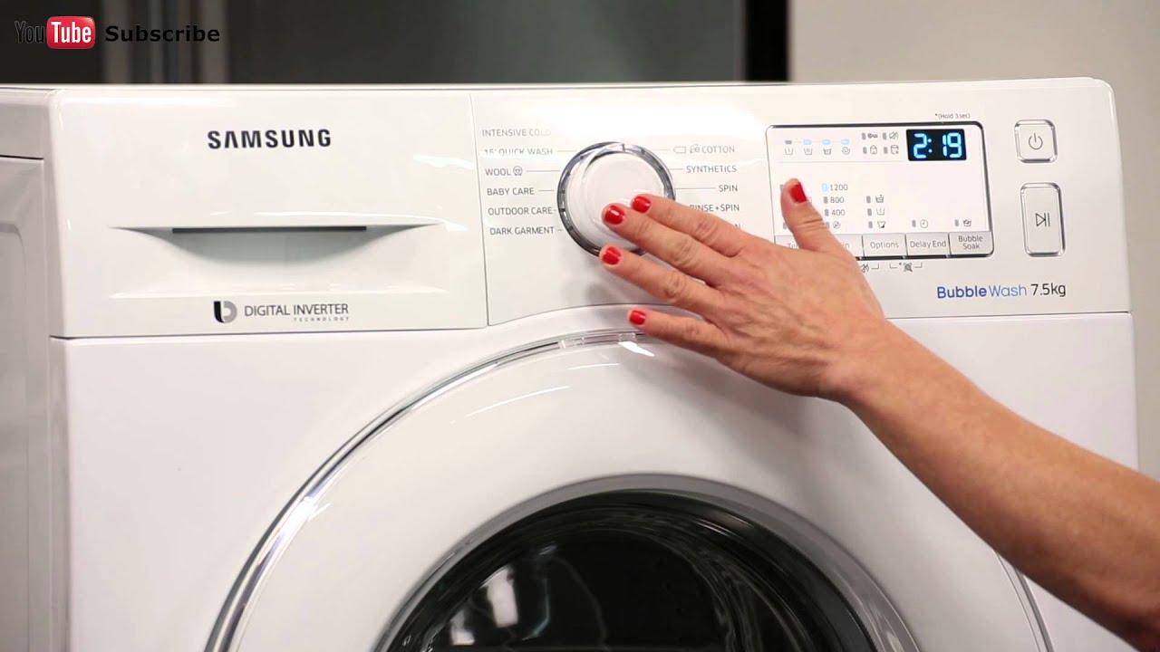 Samsung Ww75j4213iw 75kg Front Load Washing Machine Appliances Online