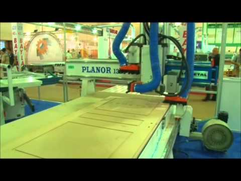 Vertical and Horizontal Milled CNC Door Processing and Sizing Machines