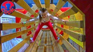 ВЛОГ в Веревочном Парке! Ярослава Альпинист! Развлекательный Центр для Детей!