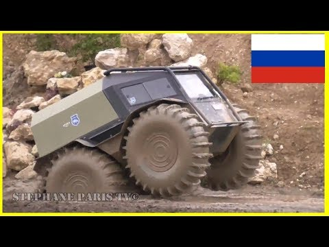 Sherp Atv /    Extreme Off-Road Russian Amphibious