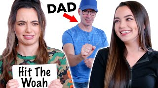 We Teach Our Dad INTERNET SLANG - Merrell Twins