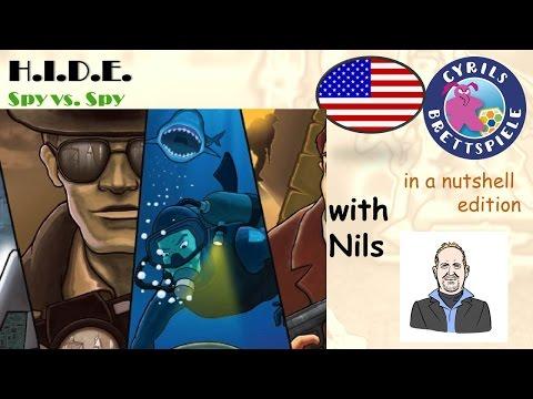 Cyrils Brettspiele - H.I.D.E. - in a nutshell (N83) - Spy vs. Spy