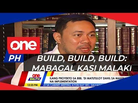 DPWH, dinipensahan kung bakit mabagal na usad ng Build, Build, Build program | ONE BALITA