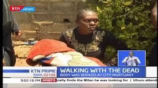 A woman forced to carry a dead body of her baby as Mbagathi hospital fails to offer transport