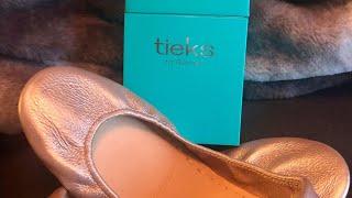 Rosé Tieks Ballet Flats Reinvented