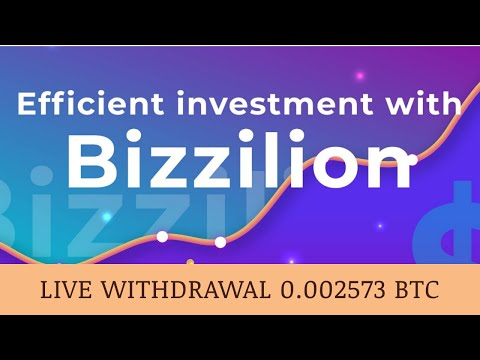 BIZZILION PTY LTD отзывы 2019, mmgp, платит, Live Withdrawal + 0.002573 BTC