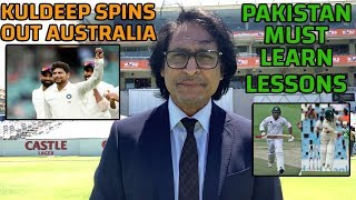 Kuldeep spins out Australia | Pakistan must learn lessons | Ramiz Speaks