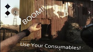 The Importance Of Consumables In Hunt: Showdown Tips
