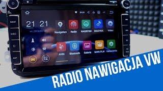 Testujemy Radio Nawigację Do VW Skoda Seat Z Android 7.1 2 GB RAM