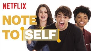 The Perfect Date Cast Show You Their Phone Notes (feat Noah Centineo)