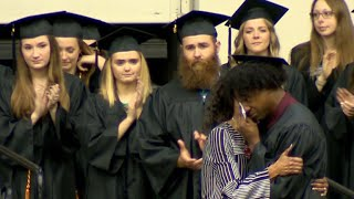 Waffle House victim's mother receives daughter's diploma