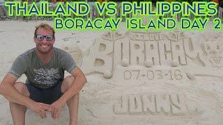 PHILIPPINES VS THAILAND - BORACAY ISLAND DAY 2 (PART 1)