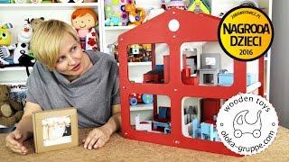 DOMOS – domek dla lalek z wyposażeniem, OLOKA-GRUPPE
