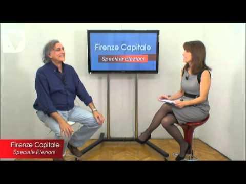 Firenze capitale - speciale elezioni - interviste ai candidati al consiglio comunale delle 23 liste in corsa per le amministrative di Firenze 2014.
