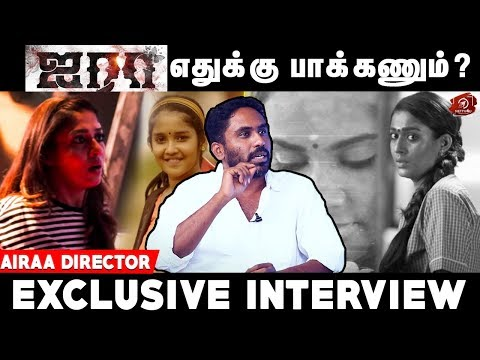 Airaa Movie Horror Sequence Revealed! | Director Sarjun Exclusive Interview | Nayanthara