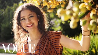 73 Questions With Zendaya  Vogue