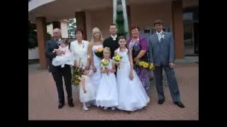 Svatba 7.8. 2010 .Novomanželé Gajdovi