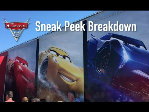Cars 3 Road to the Races Sneak Peek - Breakdown & Explanation (Pizza Planet Truck Cameo)