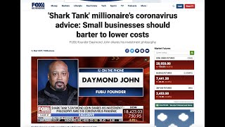 Small businesses should barter to lower costs, Shark Tank's Daymond John