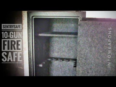 Sentry 10-Gun Fire Safe:  Review & Fitting