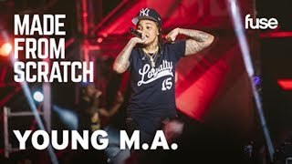 Young M.A On The Struggle of Giving Up Meat  | Made From Scratch | Fuse