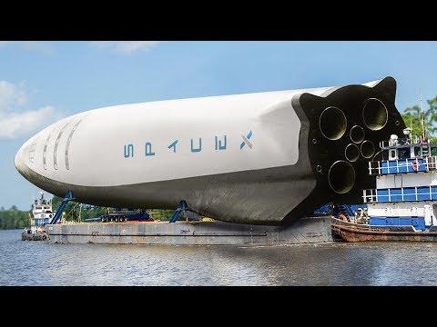 Jak bude SpaceX přepravovat raketu BFR