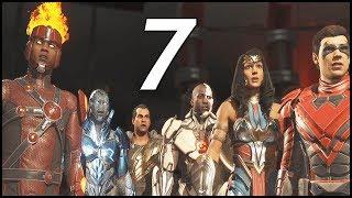 BATMAN CALLS FOR AN ALLIANCE! - Injustice 2 Walkthrough Part 7