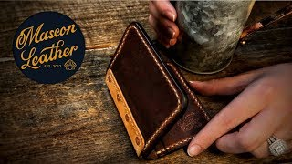 Making A Leather Wallet - (and Having Fun!)