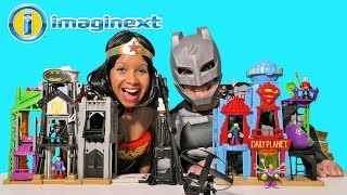 Imaginext DC Super Friends Super Hero Flight City !  || Blind Bag Show Ep79 || Konas2002