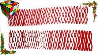 Как сделать ГИРЛЯНДУ из бумаги. Гирлянда оригами своими руками. Поделки из бумаги