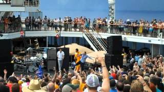 "311 ""Brodels""   Lido Deck  311 Cruise 2012"