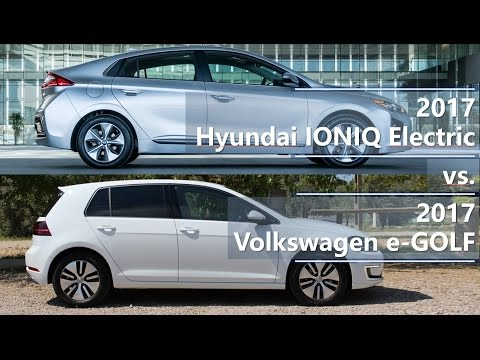 Hyundai  Ioniq Electric Хетчбек класса C - тест-драйв 4