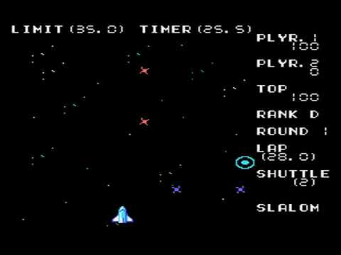 Master System Longplay [390] Space Slalom: Rank D
