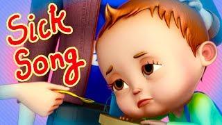 Nah Nah Ha Ha - Sick Song   Baby Ronnie   Nursery Rhymes & Kids Songs   Videogyan 3d Rhymes