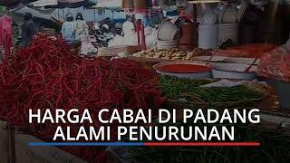 Harga Bahan Pokok di Padang Hari Ini, Harga Cabai Merah, Cabai Hijau dan Rawit Mengalami Penurunan
